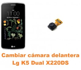 Cambiar cámara delantera Lg K5 Dual X220DS