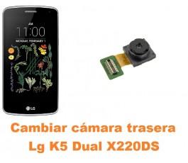 Cambiar cámara trasera Lg K5 Dual X220DS