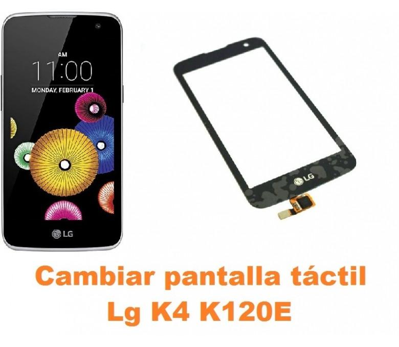 Cambiar pantalla táctil cristal Lg K4 K120E