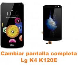 Cambiar pantalla completa Lg K4 K120E
