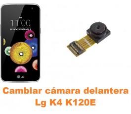 Cambiar cámara delantera Lg K4 K120E