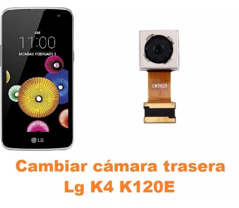 Cambiar cámara trasera Lg K4 K120E
