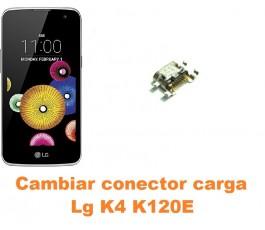 Cambiar conector carga Lg K4 K120E
