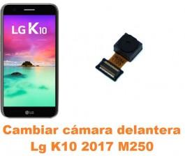 Cambiar cámara delantera Lg K10 2017 M250
