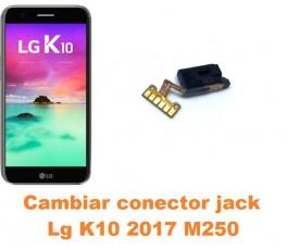 Cambiar conector jack Lg K10 2017 M250