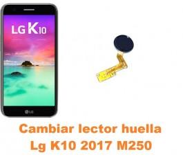 Cambiar lector huella Lg K10 2017 M250
