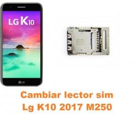 Cambiar lector sim Lg K10 2017 M250