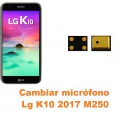 Cambiar micrófono Lg K10 2017 M250