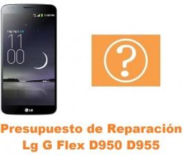 Presupuesto de reparación Lg G Flex D950 D955