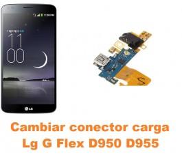 Cambiar conector carga Lg G Flex D950 D955