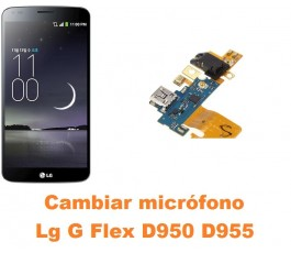 Cambiar micrófono Lg G Flex D950 D955