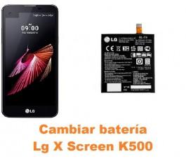 Cambiar batería Lg X Screen K500