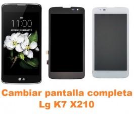 Cambiar pantalla completa Lg K7 X210