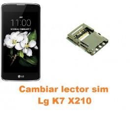 Cambiar lector sim Lg K7 X210
