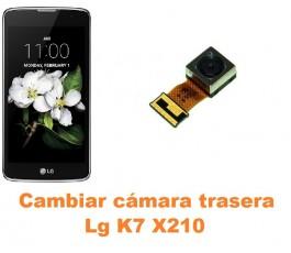 Cambiar cámara trasera Lg K7 X210