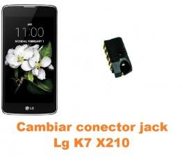 Cambiar conector jack Lg K7 X210