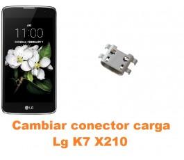 Cambiar conector carga Lg K7 X210