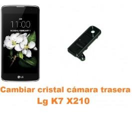 Cambiar cristal cámara trasera Lg K7 X210