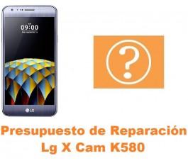 Presupuesto de reparación Lg X Cam K580