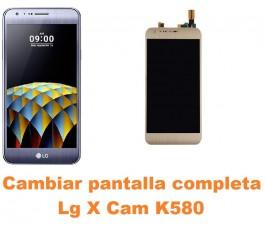 Cambiar pantalla completa Lg X Cam K580
