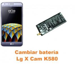 Cambiar batería Lg X Cam K580
