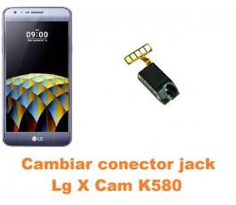Cambiar conector jack Lg X Cam K580