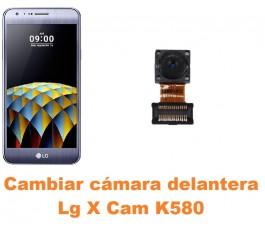 Cambiar cámara delantera Lg X Cam K580