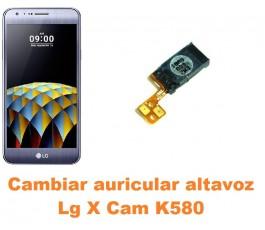 Cambiar auricular altavoz Lg X Cam K580