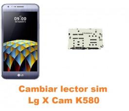 Cambiar lector sim Lg X Cam K580