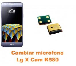 Cambiar micrófono Lg X Cam K580