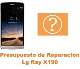 Presupuesto de reparación Lg Ray X190