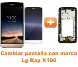 Cambiar pantalla completa con marco Lg Ray X190