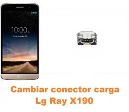 Cambiar conector carga Lg Ray X190