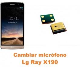 Cambiar micrófono Lg Ray X190