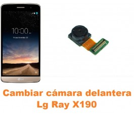 Cambiar cámara delantera Lg Ray X190