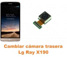 Cambiar cámara trasera Lg Ray X190