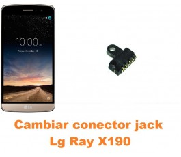 Cambiar conector jack Lg Ray X190
