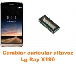 Cambiar auricular altavoz Lg Ray X190