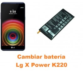 Cambiar batería Lg X Power K220
