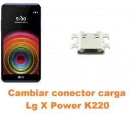 Cambiar conector carga Lg X Power K220