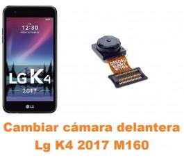 Cambiar cámara delantera Lg K4 2017 M160