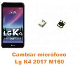 Cambiar micrófono Lg K4 2017 M160
