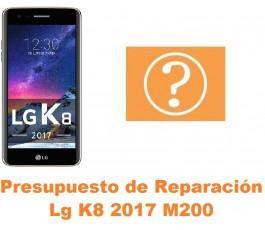 Presupuesto de reparación Lg K8 2017 M200