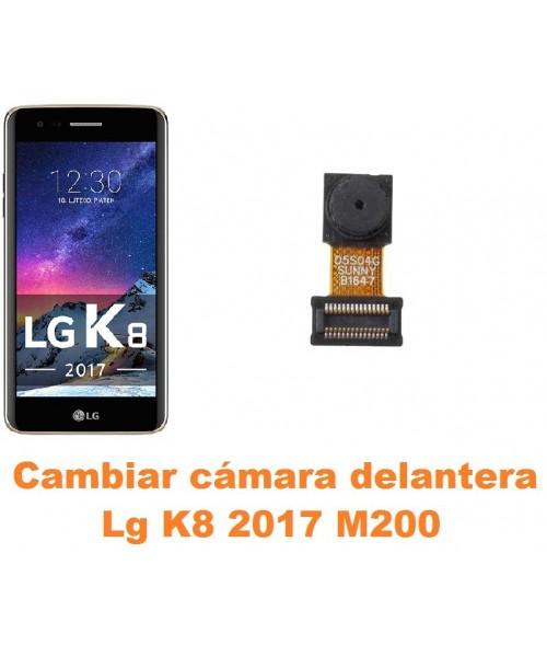 Cambiar cámara delantera Lg K8 2017 M200