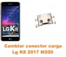 Cambiar conector carga Lg K8 2017 M200