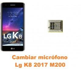 Cambiar micrófono Lg K8 2017 M200