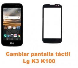 Cambiar pantalla táctil cristal Lg K3 K100