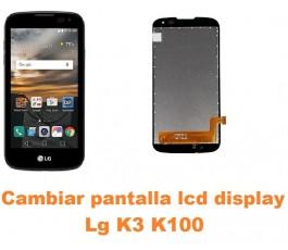Cambiar pantalla lcd display Lg K3 K100