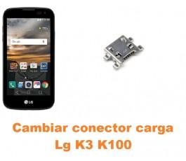 Cambiar conector carga Lg K3 K100