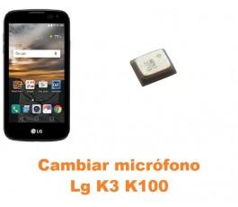 Cambiar micrófono Lg K3 K100